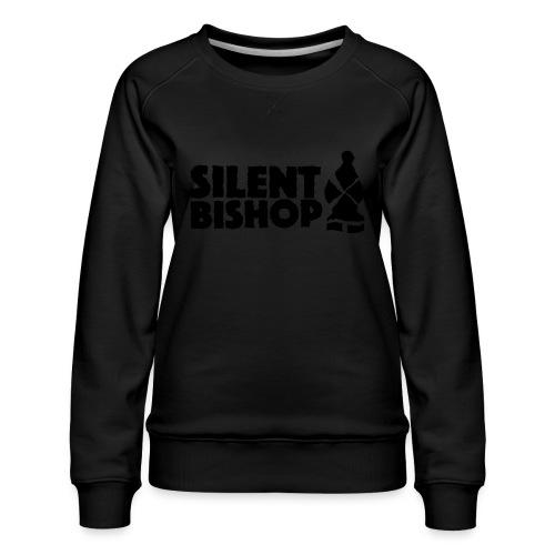 Silent Bishop Logo Groot - Vrouwen premium sweater