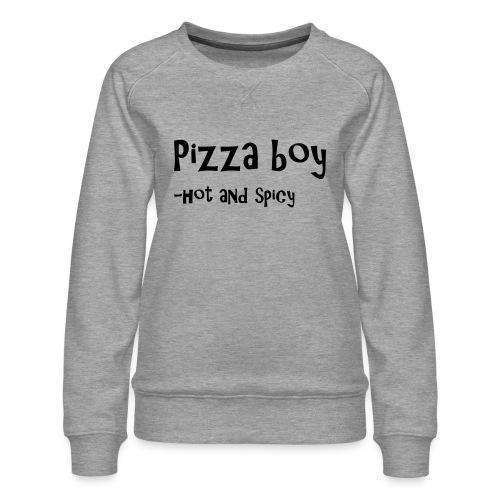 Pizza boy - Premium-genser for kvinner