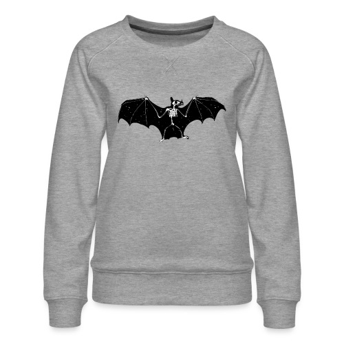 Bat skeleton #1 - Women's Premium Sweatshirt