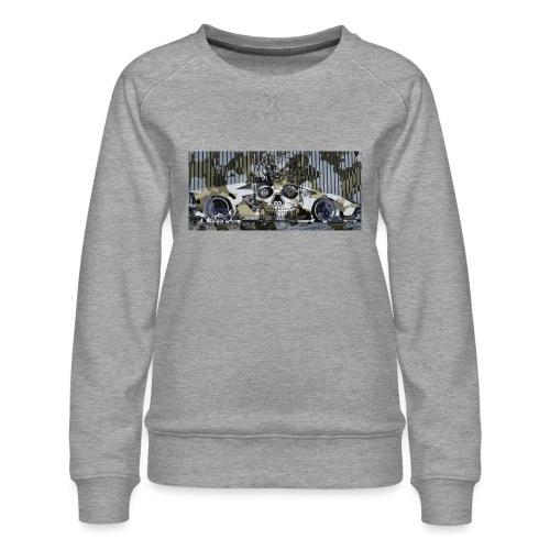 calavera style - Women's Premium Sweatshirt