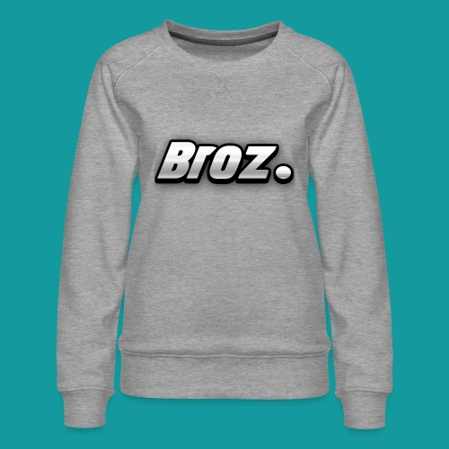 Broz. - Vrouwen premium sweater