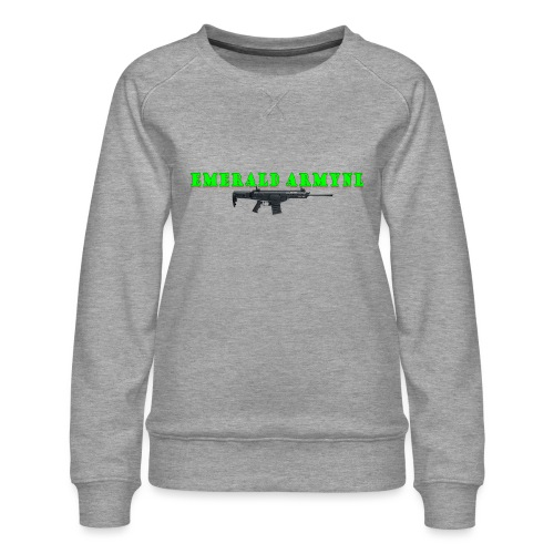 EMERALDARMYNL LETTERS! - Vrouwen premium sweater
