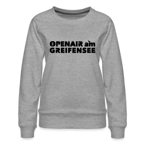Openair am Greifensee 2018 - Frauen Premium Pullover