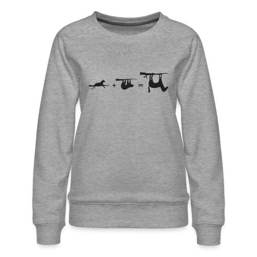 Lui paard Formule Luipaar - Vrouwen premium sweater