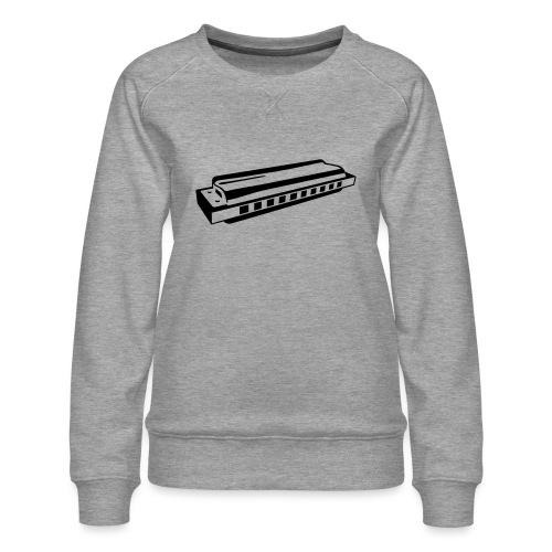Harmonica - Women's Premium Sweatshirt