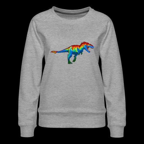 T-Rex - Women's Premium Sweatshirt