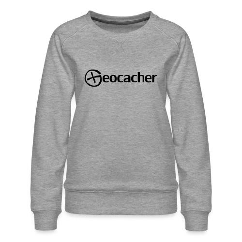 Geocacher - Naisten premium-collegepaita