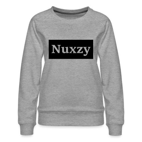 Nuxzy sweatshirt - Dame premium sweatshirt