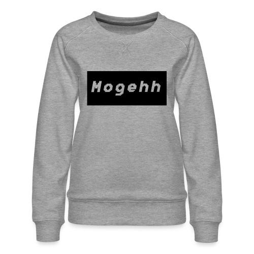 Mogehh logo - Women's Premium Sweatshirt