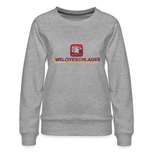 WeLoveSchlager de - Frauen Premium Pullover