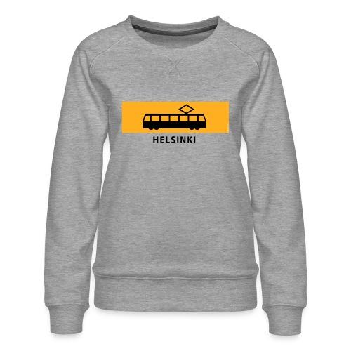 RATIKKA PYSÄKKI HELSINKI T-paidat ja lahjatuotteet - Naisten premium-collegepaita