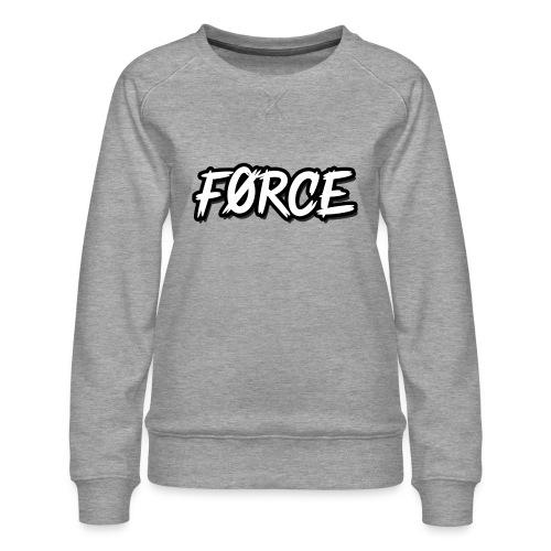 K - Vrouwen premium sweater