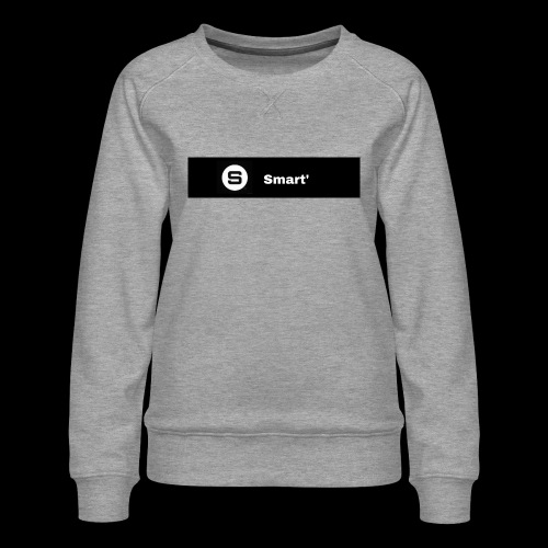 Smart' BOLD - Women's Premium Sweatshirt