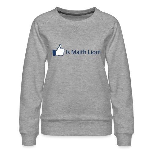 like nobg - Women's Premium Sweatshirt