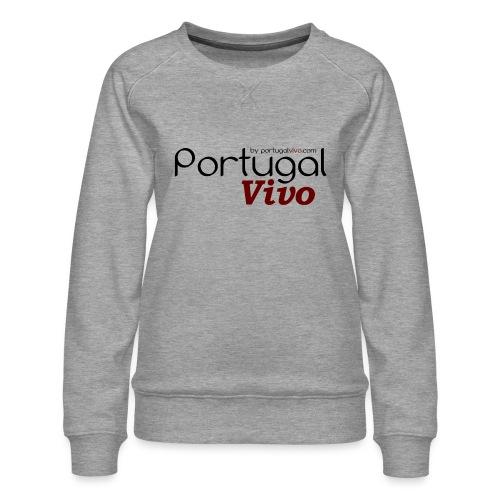 Portugal Vivo - Sweat ras-du-cou Premium Femme