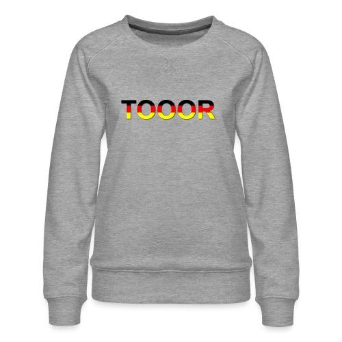 TOOOR-Schatten-transparen - Frauen Premium Pullover