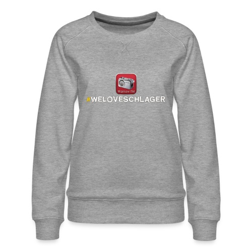 WeLoveSchlager 1 - Frauen Premium Pullover