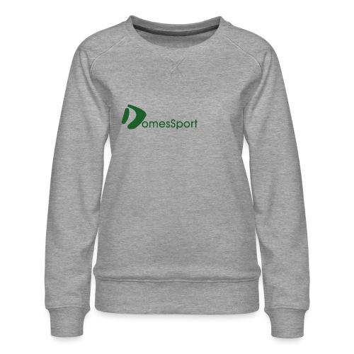 Logo DomesSport Green noBg - Frauen Premium Pullover