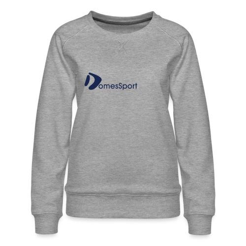 Logo DomesSport Blue noBg - Frauen Premium Pullover