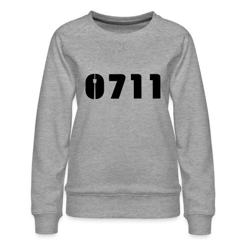 Baby-Mütze Stuttgart-0711 - Frauen Premium Pullover