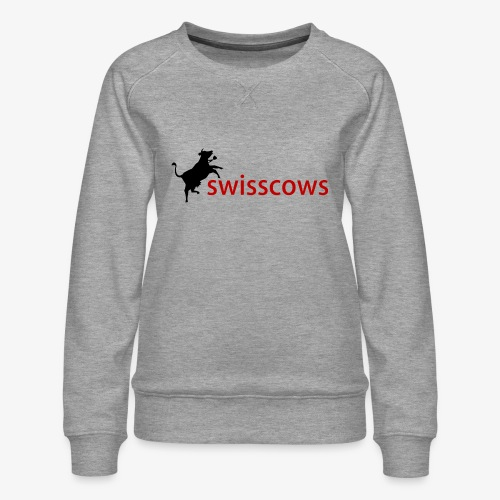 Swisscows Logo - Frauen Premium Pullover