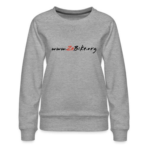 wwwzebikeorg s - Sweat ras-du-cou Premium Femme