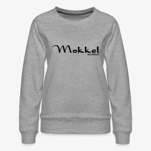 mokkel - Vrouwen premium sweater
