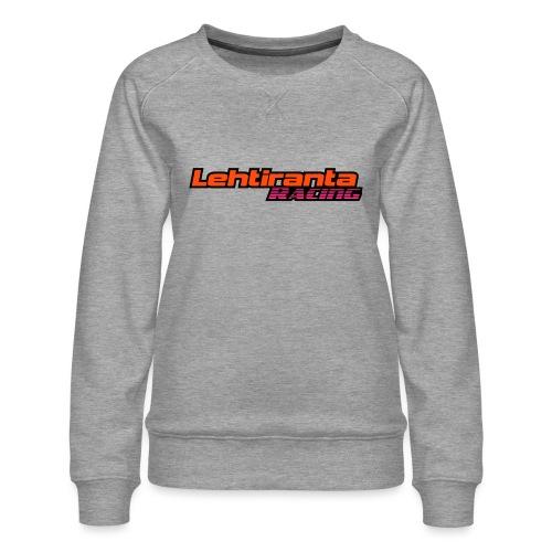 Lehtiranta racing - Naisten premium-collegepaita