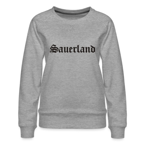 Sauerland - Frauen Premium Pullover