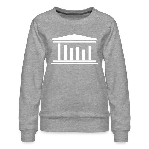 TST Logo White - Women's Premium Sweatshirt