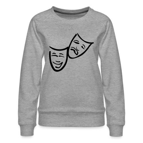 Theatermasken - Frauen Premium Pullover