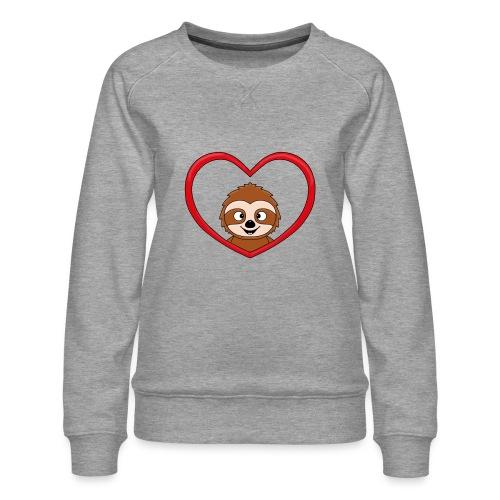 FAULTIER - LIEBE - LOVE - TIER - KIND - BABY - Frauen Premium Pullover