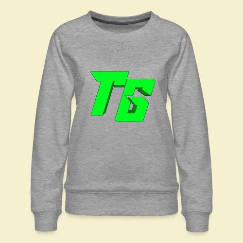 TristanGames logo merchandise [GROOT LOGO] - Vrouwen premium sweater