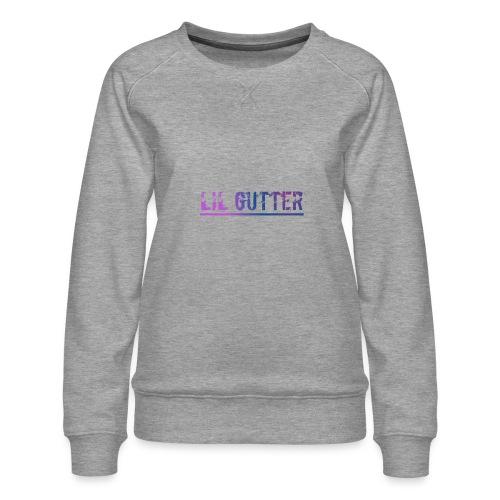 Lil gutt - Dame premium sweatshirt