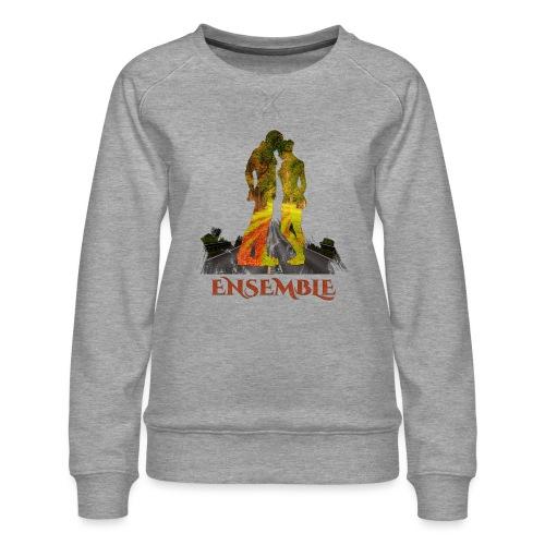 Ensemble -by- T-shirt chic et choc - Sweat ras-du-cou Premium Femme
