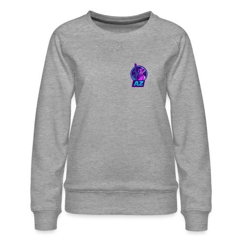 AZ GAMING LOGO - Women's Premium Sweatshirt