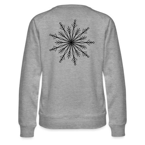 winterkind the mastermind snowflake - Frauen Premium Pullover