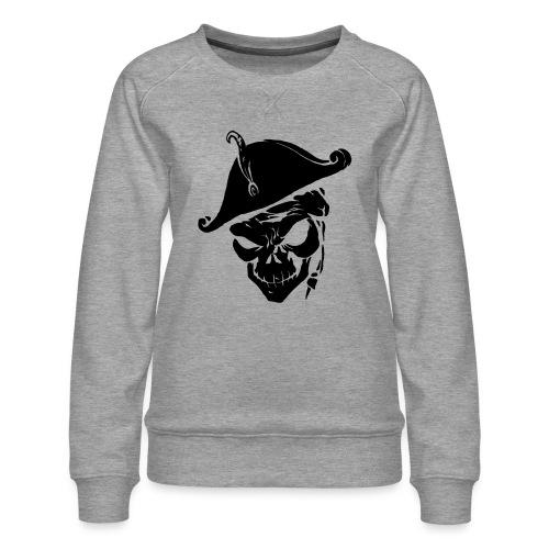 pirate skull - Vrouwen premium sweater
