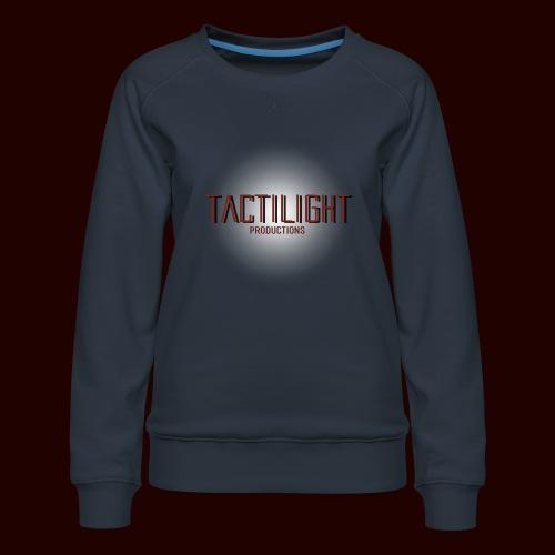 Tactilight Logo - Women's Premium Sweatshirt