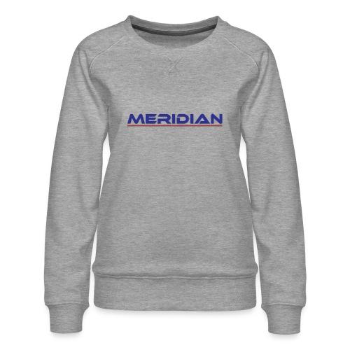 Meridian - Felpa premium da donna
