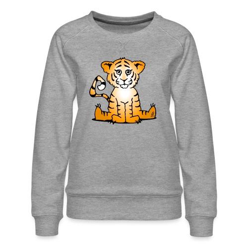 Tiger cub - Women's Premium Sweatshirt