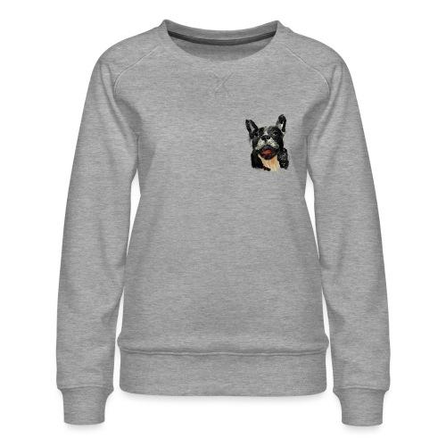 French Bulldog Portrait - lebendig und urban - Frauen Premium Pullover