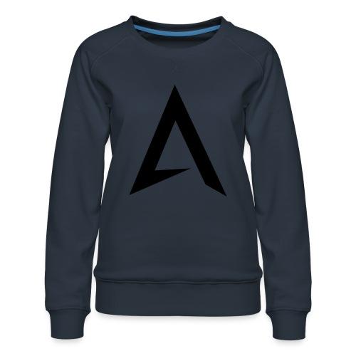 alpharock A logo - Women's Premium Sweatshirt