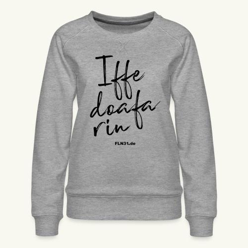 Iffedoafarin - Frauen Premium Pullover