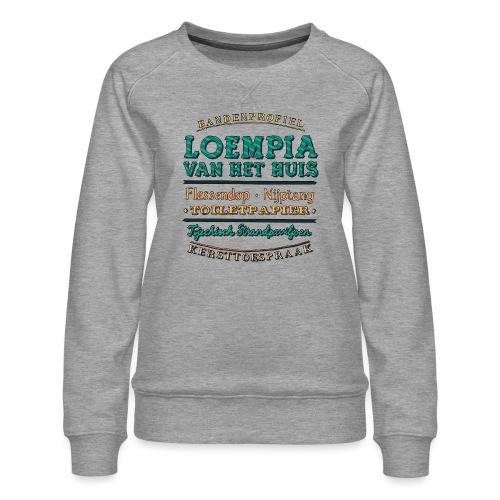 Bandenprofiel - Vrouwen premium sweater