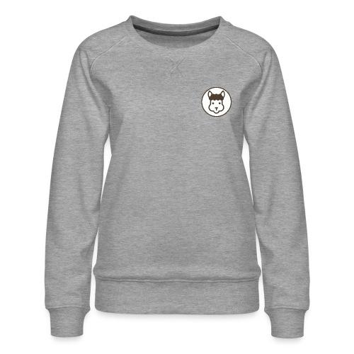 Llamalicious Logo - Dame premium sweatshirt
