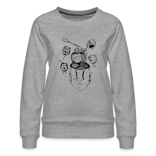 Spaghetti head - Women's Premium Sweatshirt