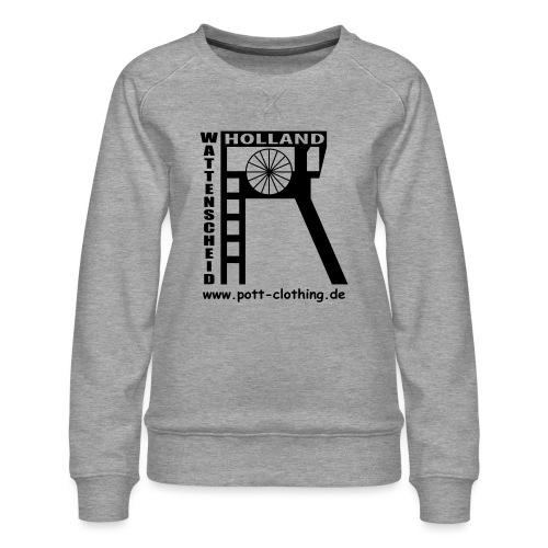Zeche Holland (Wattenscheid) - Frauen Premium Pullover