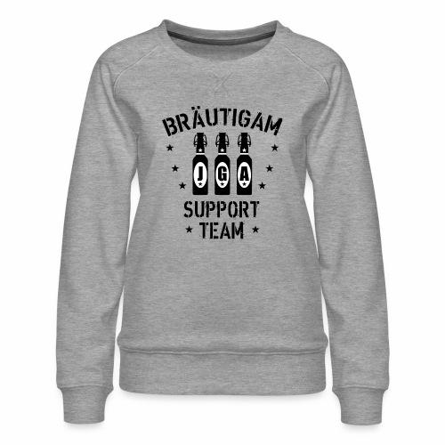 03 JGA Bierflaschen Bräutigam Support Team - Frauen Premium Pullover