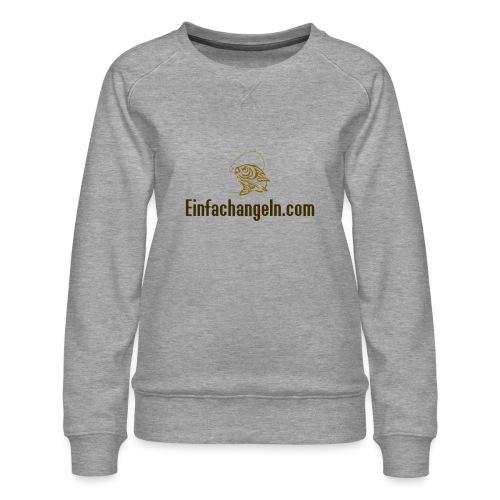 Einfachangeln Teamshirt - Frauen Premium Pullover